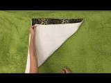 Как сложить полотенце Складываем полотенце в ролл, чтобы не распадалось