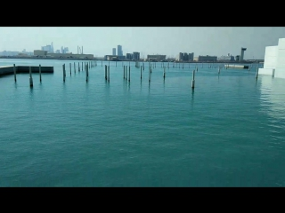 Дубай, музей Лувр на берегу Песидского залива. Бабин путешествие 2018