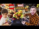 Папа Дома • Папа Роб и Ярик играют в #LEGO Marvel Super Heroes 2. Часть 2