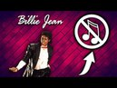Michael Jackson - BILLIE JEAN - Without Music - Short