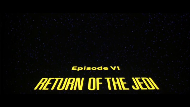 ORIGINAL Opening Scene | Return of the Jedi (1983) [2006 Bonus DVD]