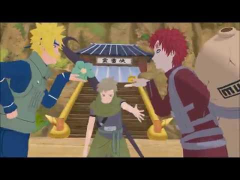 [MMD x Naruto] Carry Me Off | Minato, Yagura, Gaara, Utakata, Naruto