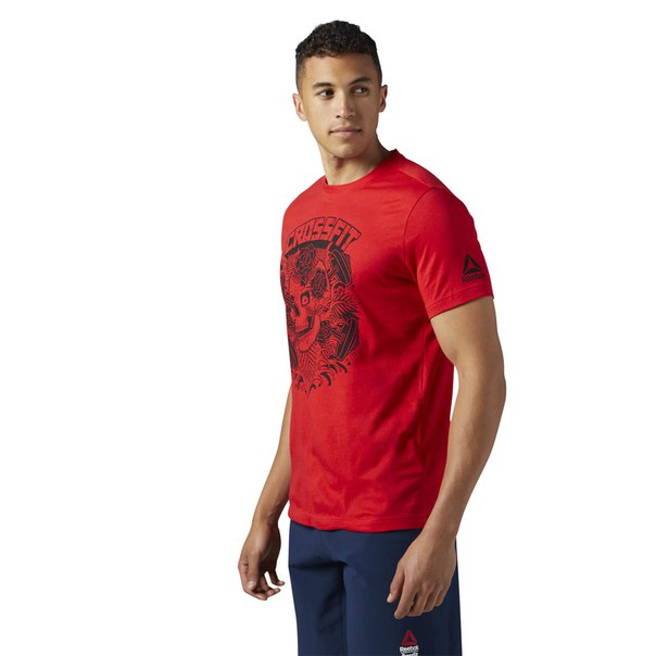 Спортивная футболка Reebok CrossFit x Mike Giant Skull Graphic