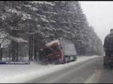 Из-за снегопада дорожные службы города и края переведены на усиленный режим работы