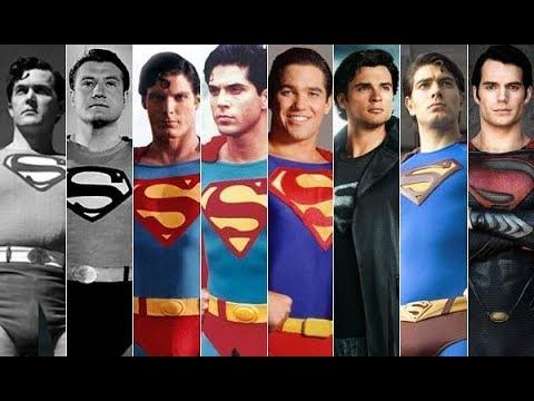 Эволюция Супермена в кино и в мультфильмах с 1941 года