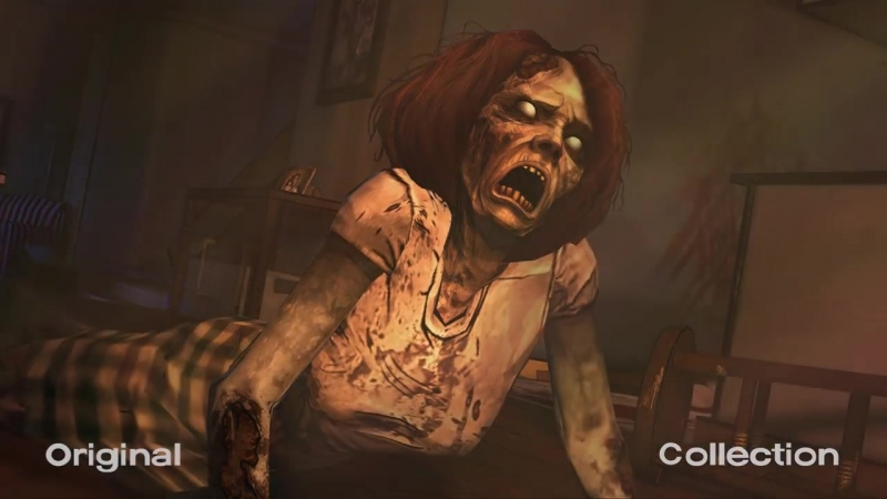 The Walking Dead Collection Graphics Comparison- Collection Vs Original
