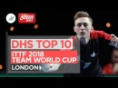 DHS ITTF Top 10 - 2018 Team World Cup