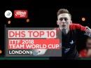 DHS ITTF Top 10 2018 Team World Cup