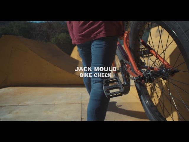 WETHEPEOPLE BMX: Jack Mould MESSAGE Bike Check insidebmx
