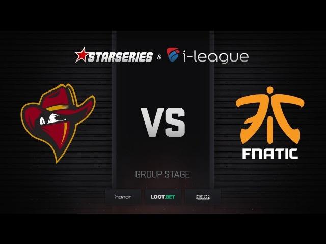 Renegades vs fnatic, map 1 mirage, StarSeries i-League Season 4 Finals