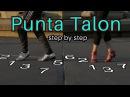 How to do punta talon Salsa Caleña Salsa Colombia Cali Style Tutorial