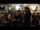 Выступление Николая Тихоненкова в творческой гостиной