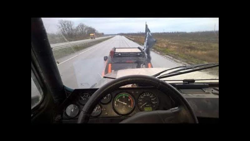 Долгий путь домой на УАЗе V8 часть 2