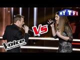 Ry'm VS Aurelle - For Me Formidable (Charles Aznavour) The Voice France 2017 Battle