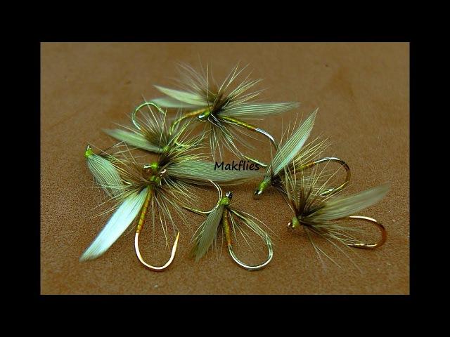 Tying a Greenwells Glory Wet Fly by Mak