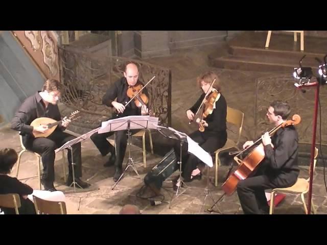 J.Haydn Quartett D-Dur con liuto (5.Presto,Finale) V.Beer Demander Trio à Cordes
