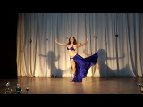 Anna Sereda. Ala Fekra - Wael Kfoury. Bellydance