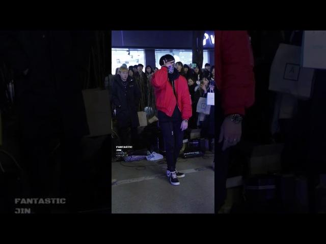 161210 DOB 디오비 홍대공연 《박재범 - 몸매》 Park Jin 박진