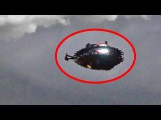 Д ерзость НЛО достигла апогея.Пришельцы дали понять,кто кон трол ирует атмосфер ...
