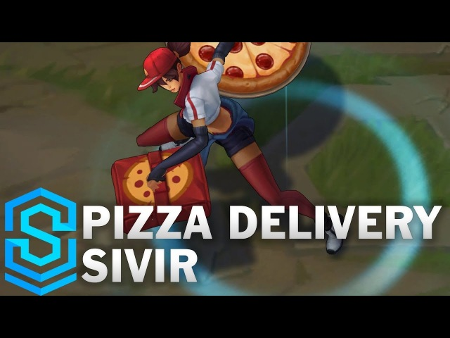 Pizza Delivery Sivir Skin Spotlight - League of Legends