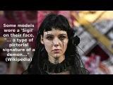 Католическая реклама сатанизма. Dilara Findikoglu's Satanic Fashion Ritual