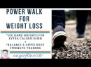 30 min Power Walk Indoor Walking Program Power Walking with Weights Tone Your ARMS as YOU Walk