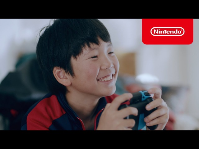 Nintendo Switch 2017 2018冬 CM1