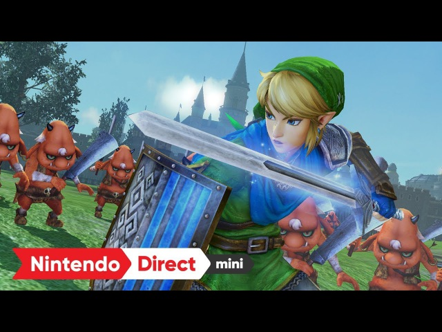 ゼルダ無双 ハイラルオールスターズ DX [Nintendo Direct mini 2018.1.11]
