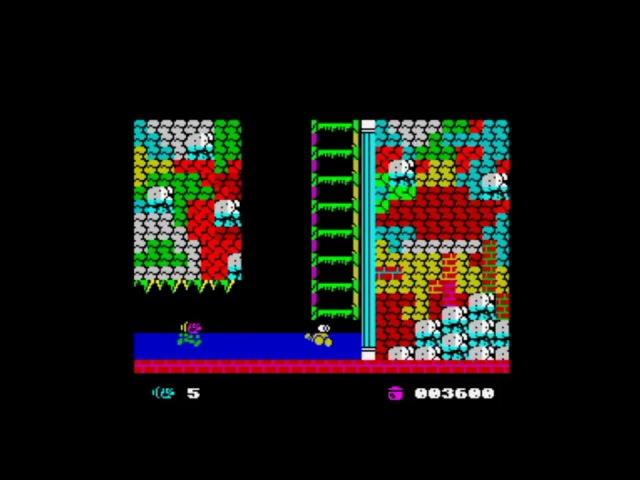 Baffo Jones (2015) Walkthrough, ZX Spectrum