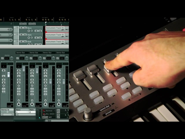 Novation SL MkII and Impulse Controlling Cubase and Nuendo