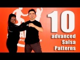 10 advanced salsa patterns in just 4 minutes (2018)