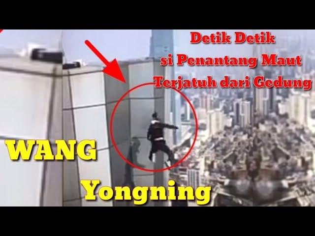 Aksi Terakhir detik detik Wang Yongning Tejatuh dari gedung di Changsha