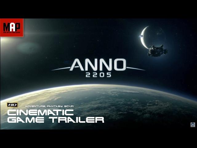 ANNO - 2205 Cinematic Trailer - Sci-Fi CGI 3D VFX Animation by Nozon