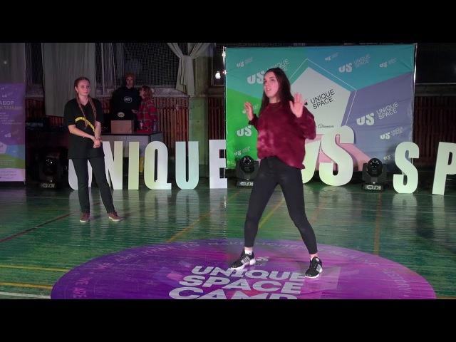 UNIQUE SPACE CAMP | 07 01 201823 | Тюляева Даша vs Гулькова Алена vs Оля