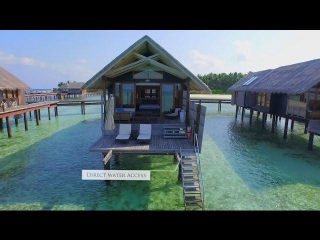 Water Villa: Shangri-La's Villingili Resort Spa, Maldives