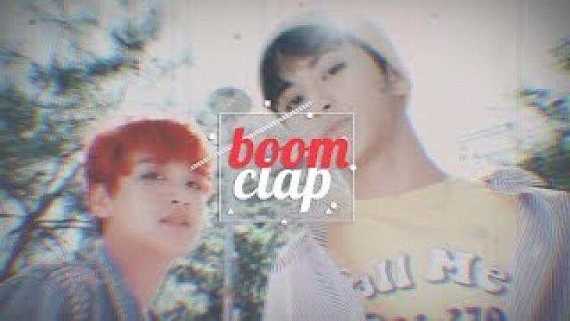 【mark x haechan】boom clap 💥