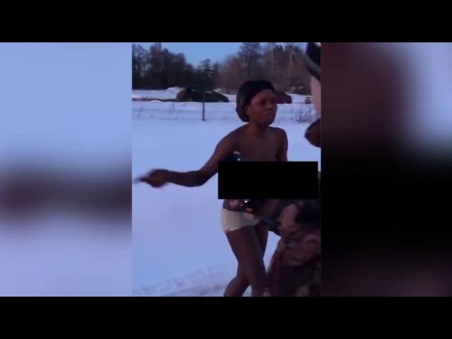 В Подмосковье темнокожих проституток выгнали на мороз в одних трусах