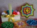 Мастер Класс по плетению Восьмиугольной мандалы оберег The octagonal mandala talisman