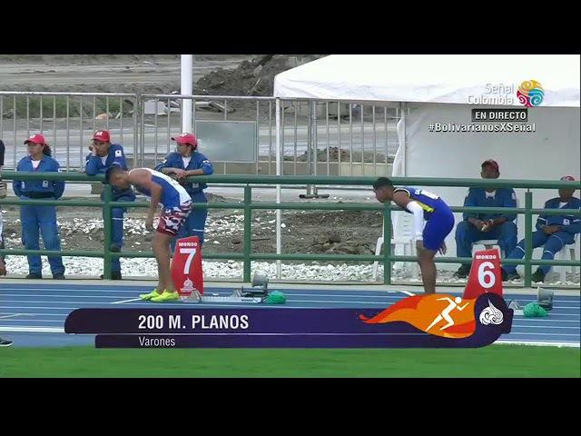 Juegos bolivarianos santa marta 2017 en vivo atletismo dia dos