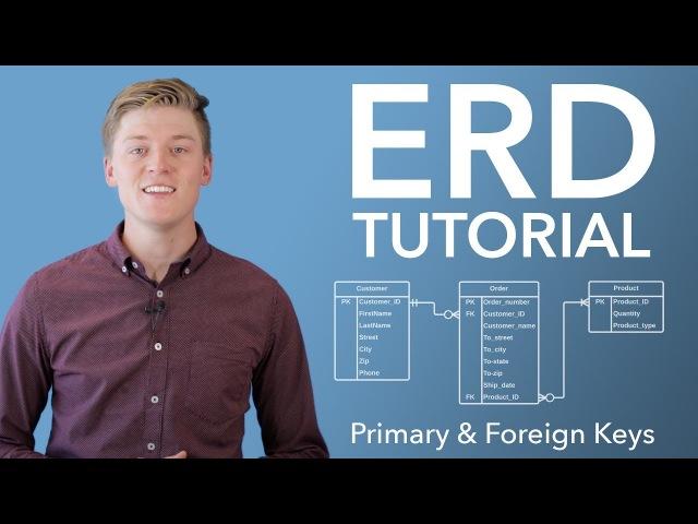 Entity Relationship Diagram ERD Tutorial Part 2 смотреть онлайн без регистрации