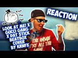 Gucci Gang x Dat $tick - Lil Pump &amp Rich Brian (Beatbox Cover by KRNFX) REACTION