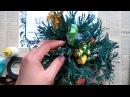 How to make paper pine tree Làm cây thông giấy nhún