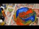 Заливка акрилом Пва жид стекло колер силикон