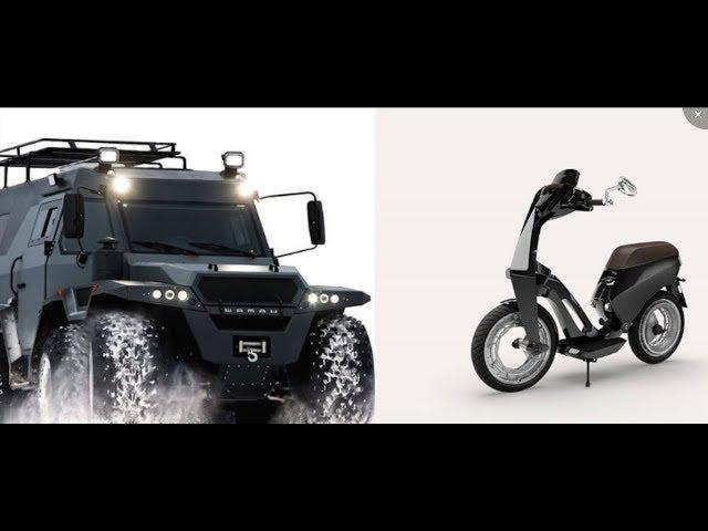 Вездеход Шаман и нано- скутер Чубайса. Успешные и неудачные российские проекты