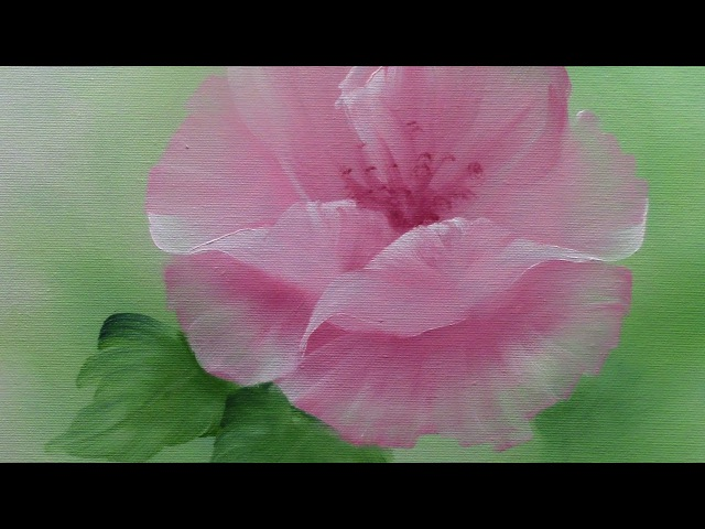 Painting With Yovette, How to Paint a Basic Flower, Oil