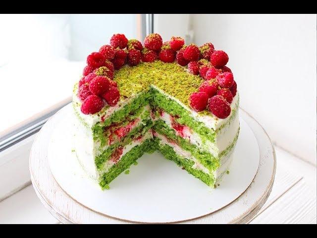 ИЗУМРУДНЫЙ ТОРТ из ШПИНАТА SPINACH CAKE