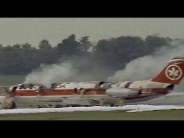 Air Canada fire: 23 die on burning plane making emergency landing at CVG