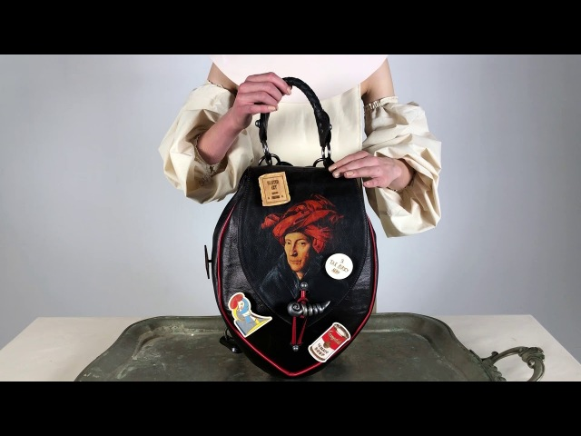 ANTE KOVAC BAG. Рюкзак Мужчина в тюрбане / Bagpack The man in a turban.