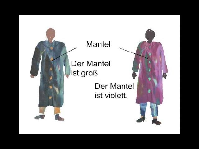 33. Kleider Mantel Jacke