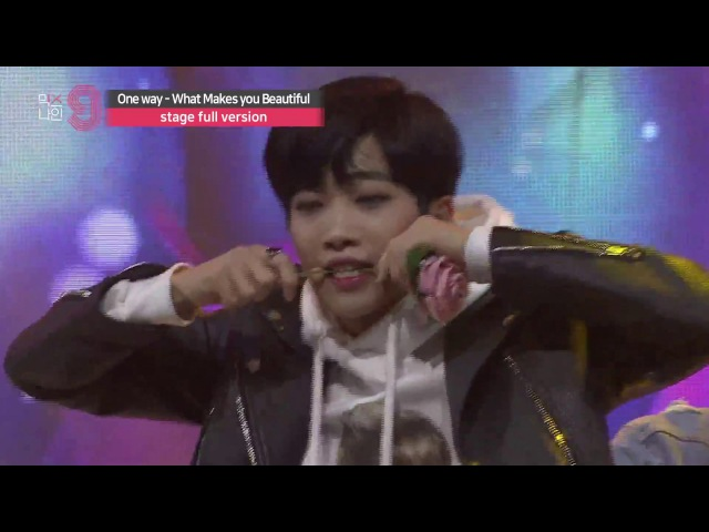 MIXNINE 믹스나인 One Way Makes You Beautiful One Direction 원디렉션 Stage Full Ver